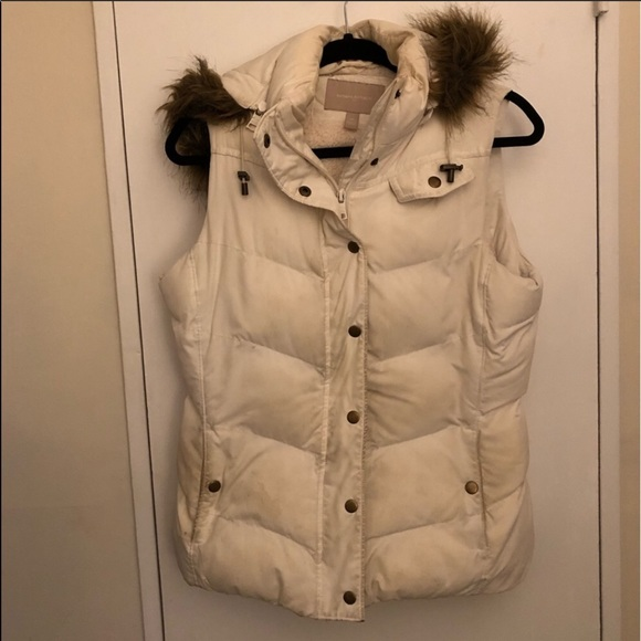 Banana Republic Jackets & Blazers - Banana Republic Vest with Detachable Hood